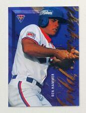 1995 Futera ABL Australian Baseball Gold Prospect #GP4 Ben Hammer