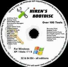 PC Repair, Password Recovery, Clone. Malware/Virus Removal, Bootable CD - Hirens