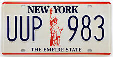Plaque d'immatriculation américaine NEW YORK The Empire State
