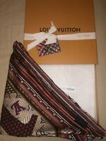 Authentic Louis Vuitton New Silk Shawl (Scarf) - Limited Edition-Comes With Box