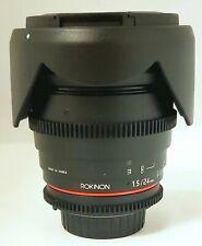 Rokinon 24mm T1.5 Cine Wide Angle for Nikon