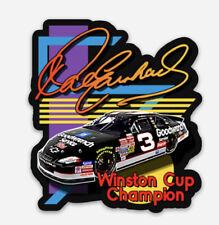 Dale Earnhardt Nascar Winston Cup Vinyl Sticker Decal