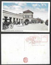 Old Florida Railroad Postcard - Jacksonville - Union Station, Depot