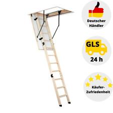 Dachbodentreppe Bodentreppe Speichertreppe Holz Treppe 120 x 60 cm Super Step