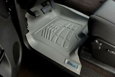 2012 - 2015 Custom Wade Floor Mats in GRAY Front Row Toyota Tacoma