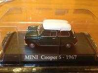 """DIE CAST """"MINI COOPER S - 1967"""" SCALA 1/43 RBA AUTO INDIMENTICABILI"""