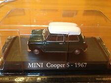 """STERBEN CAST """"MINI COOPER S - 1967"""" SKALA 1/43 RBA AUTO UNVERGESSLICHE"""