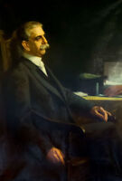 """oil painting """"Herbert W. Ladd (1843-1913), Governor of Rhode Island. """"@12641"""