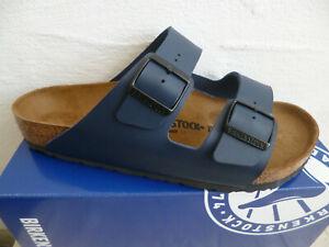 Birkenstock Arizona Mules Sandal Slippers Blue 51751 New
