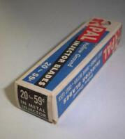 20 Pal Hollow Ground injector safety Razor blades  wil fit  schick eversharp key