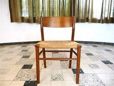 Danish Teak Chair Børge Mogensen-mod. 157 Paper Cord Søborg møbler silla 1950s