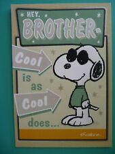SNOOPY BOISE STATE BRONCOS BIRTHDAY GREETING CARD