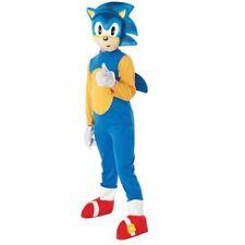 Medium Children's Sonic The Hedgehog Costume - Boys Animal Blue Video Game Kids