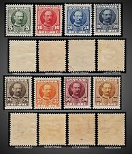 1904 - 1905 1906 DENMARK KING FREDERIK VIII NH LH SCT. 72 -78 +72a  MI 53-59