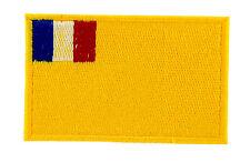 Parche bandera PATCH bordado termoadhesivo INDOCHINA VIETNAM FRANCIA