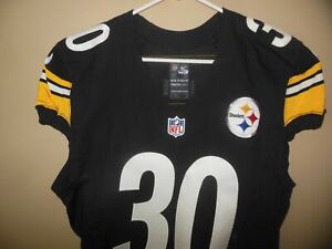PITTSBURGH STEELERS  GAME USED  FOOTBALL JERSEY