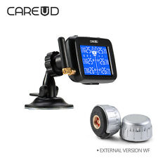 Car Wireless RV TPMS Tire Pressure Monitoring System + 6 Sensor LCD Display