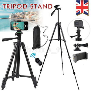 Universal Mobile Phone Tripod Stand Grip Holder Mount For Cameras Phones Remote