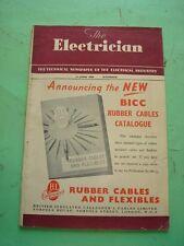 REVISTA - MAGAZINE THE ELECTRICIAN. 16 JUNIO 1950