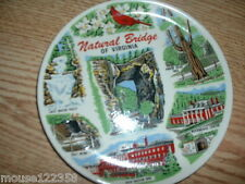 Natural Bridge of Virginia State Plate Souvenir