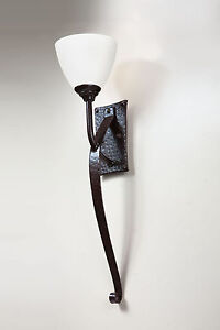 Set of two Wrought Iron Hand Made Wall Light