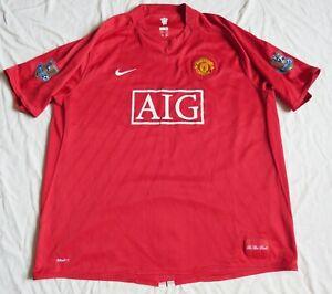 MANCHESTER UNITED Nike Home Shirt 2007/09 (3XL)