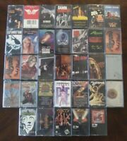 You Pick Audio Cassette Tape Lot: 1980's Hard Rock Arena Rock Glam Hair Metal