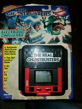 1988 Remco The Real Ghostbusters Hand Held Video Game Working LCD Partial Pckg