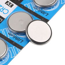 New Arrival 5Pcs Lots CR2032 3 Volt Coin Button Cell Battery for Watch Remote