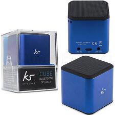 NUOVO KitSound CUBO PORTATILE MINI BLUETOOTH MP3 SMARTPHONE Outdoor Altoparlante Stereo
