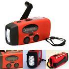 Emergency Radio Solar Hand Crank AM/FM/NOAA LED Flashlight Phone Charger DH