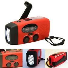 Emergency Radio Solar Hand Crank AM/FM/NOAA LED Flashlight Phone Charger MT