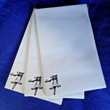Hang in There Cat 3 Notepads 50 Sheets 8.5 x 5.5 New Black & White Drawing