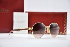 New listing Vintage 90's Cartier Bagatelle Wood Bubinga Sunglasses Occhiali Brillen lunette