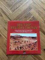 "NON-STOP WESTERN THEMES - SUNSET RECORDS SLS 50312 12"" VINYL LP FREE UK POSTAGE"