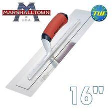 """Marshalltown 16"""" permaflex Colher De Pedreiro - 16 Polegadas Aço Inoxidável flexível"""