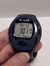 POLAR A3 Heart Rate Monitor Wristwatch WR30M Blue Rubber Plastic watch