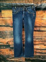 Womens SILVER JEANS AIKO BOOTCUT Stretch Tag 26x31 Measure 28x29