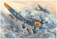 Trumpeter 02424 1/24 German Ju-87D-5 Stuka Bombardment Aircraft Model Plane Jet