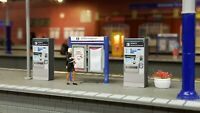Ticket Machines for Model Train Railway Passengers OO Gauge HO Scale 1:76 1:87