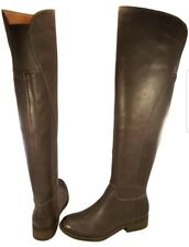 LUCKY BRAND OTK OVER THE KNEE WOMAN BOOTS GRAY LEATHER SIZE 6 M/36 MINT HAVASOO