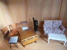 Dolls House Miniatures Furniture Mixed Lot 1:12 Scale