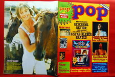 Shaun Cassidy Back Cover Jimi Hendrix Who/Roger Daltrey 1975 German Magazine