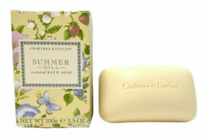 Crabtree & Evelyn Summer Hill Scented Bath Soap 3.5 oz