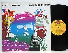 Curtis Mayfield       Back to the world        FOC        USA          NM  # J