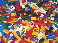 GENUINE LEGO 500g bundle of mixed bricks pieces parts approx 400 pieces job lot