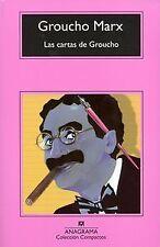 Las cartas de Groucho Marx. NUEVO. Nacional URGENTE/Internac. económico. CINE, R