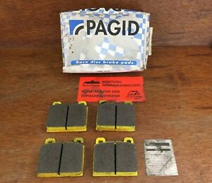 Pagid Yellow RS19 Race Front Brake Pads for Porsche 911 72-89