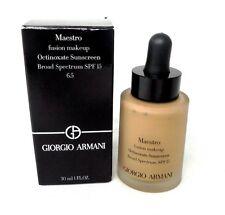 Giorgio Armani Octinoxate Sunscreen Fusion Makeup Foundation ~ 6.5 ~ 1.0 oz BNIB