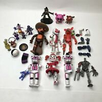 Five nights at freddy's FNAF loose action figure lot PARTS Pieces Ennard Foxy US